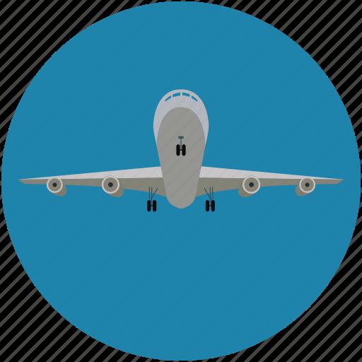 airplane, flight, plane, travel icon