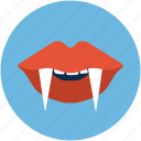 devil, halloween, vampire icon