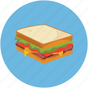 food, sandwich icon