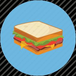 food, sandwich icon