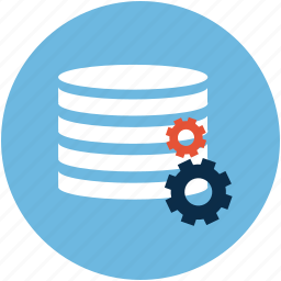 cloud, database, system icon