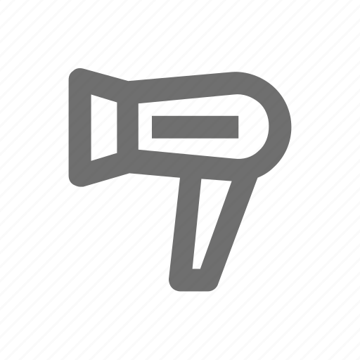 Dryer, electronic, hair, salon, technology icon - Download on Iconfinder