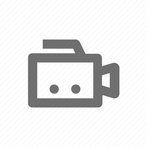 camera, electronic, film, technology, video icon
