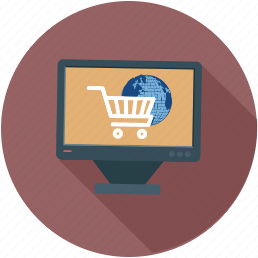 eshopping, online, shopping, window, windowshopping icon