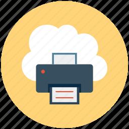 cloud, cloud printiing, cloudprinting, era, internet, printing, upload icon
