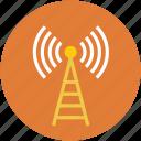 signal, wifi, lifi, radiations, antenna icon