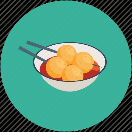 dumplings, food, hungry, meatballs, resturant, sauce icon