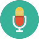music, recorder, send, sound, voice icon