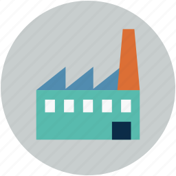 burning, chimney, coal, factory, outlet, production icon