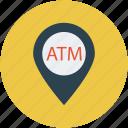 atm locator, maps, atm, locator, near, close, nearby icon