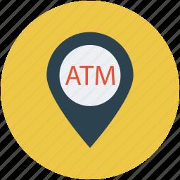 atm, atm locator, close, locator, maps, near, nearby icon