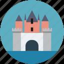 saga, king, castle, queen, family icon