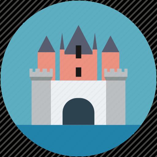 castle, family, king, queen, saga icon