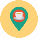 close, coffee, hangout, hungry, maps, nearby, tea