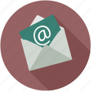 communication, email, envelope, letter, mail, message, official icon