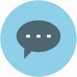 bubble, chat, comment, message, messenger, sms, text, textbox icon