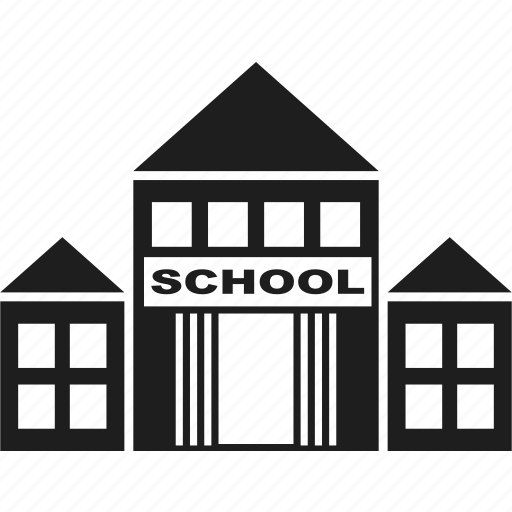 building, education, house, learning icon
