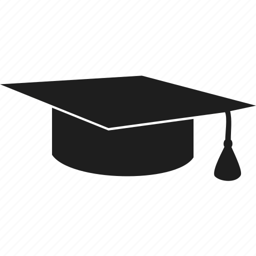 education, hat, learning, school icon