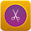 app, audio, barbershop, montage, video icon