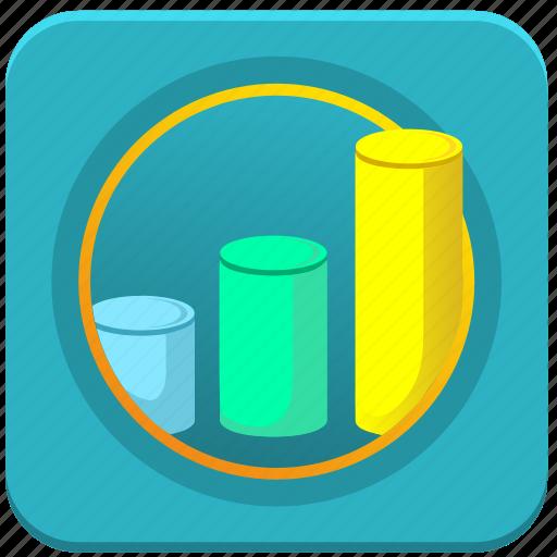 charts, database, economics, info, statistics icon