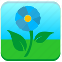 flower, nature, plant, shop icon