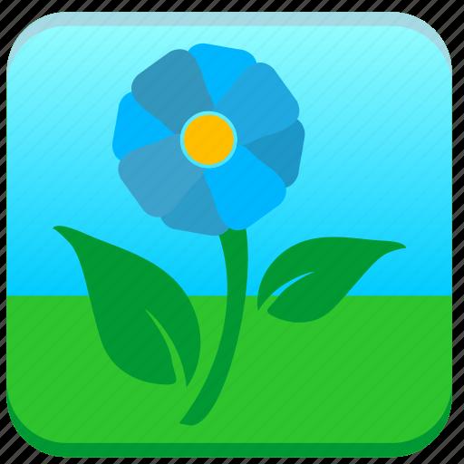 flower, nature, plant, shop icon