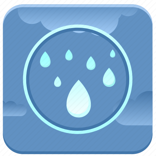 app, condition, drop, humidity, news, rain, weather icon