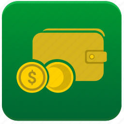 app, cash, coin, dollar, money, out, usd icon