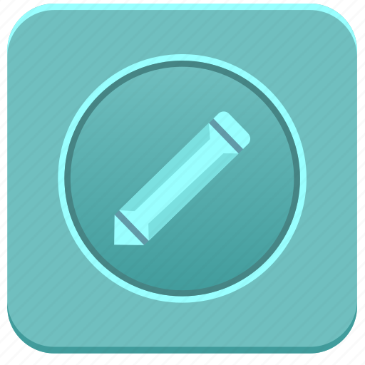 app, editor, note, notepad, pencil, text icon