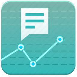 app, chart, diagramm, economics, statistics icon