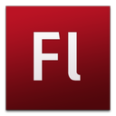 adobe, cs3, flash icon