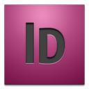 adobe, cs4, indesign icon