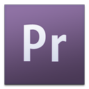 adobe, cs3, premier icon