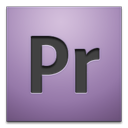 adobe, cs4, premier icon