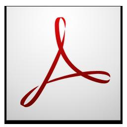 acrobat, adobe, cs4 icon