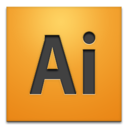 adobe, cs4, illustrator icon