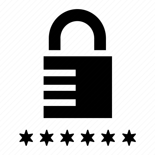 lock, password, private, protection, secure, security icon