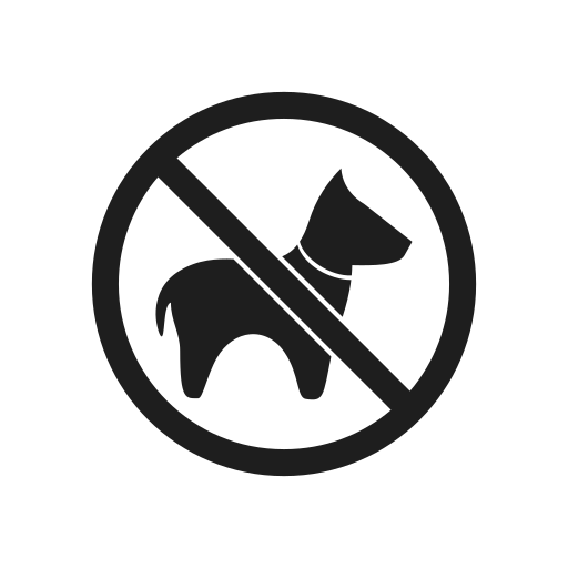 dog, impossible, interdiction, prohibiting sign, prohibition, prohibition sign, warning icon