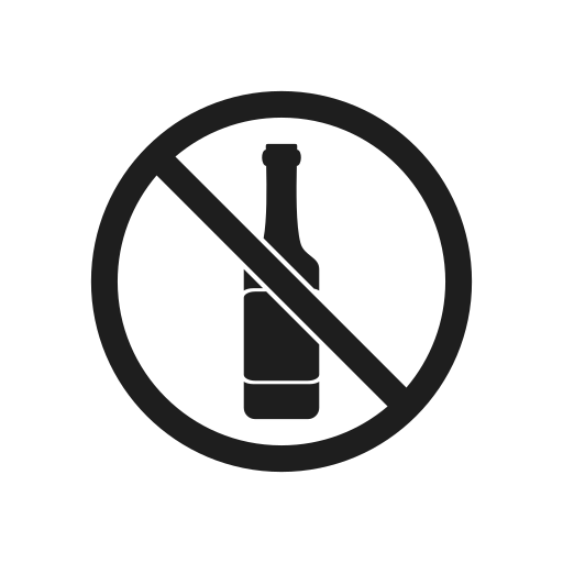 bottle, impossible, interdiction, prohibiting sign, prohibition, prohibition sign, warning icon