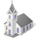 catholictemple, church, jesus, religion, temple icon