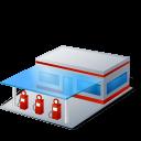 filling station, gas station, gasoline station, gasstation, petrol station icon