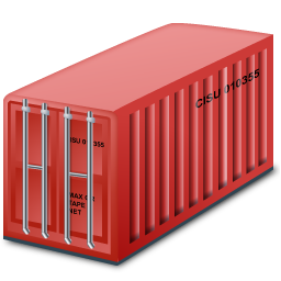 container, containerred icon