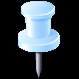 gps, location, needle, pin icon