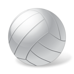 ball, sports, volleyball icon