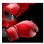 box, boxer, boxing, gloves, sport, sports icon