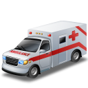 ambulance, car, doctor, emergency, red cross, transportation, vehicle