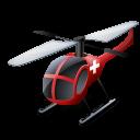 helicopter, medical, transportation, vehicle