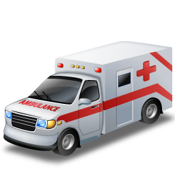 ambulance, car, doctor, emergency, red cross, transportation, vehicle icon