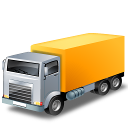 lorry, transport, transportation, truck, vehicle, yellow icon