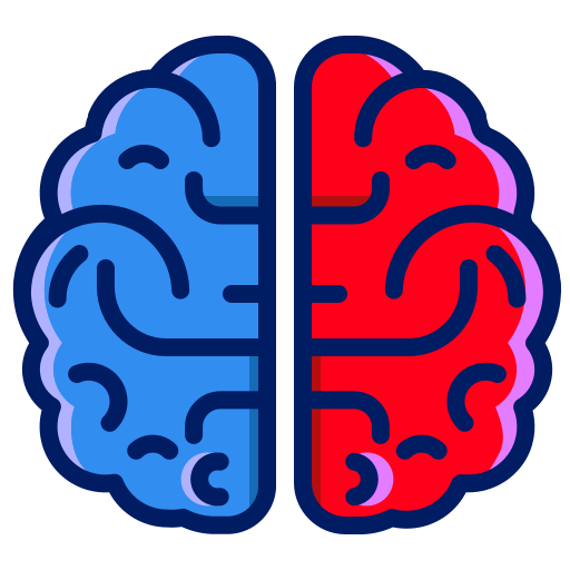 brain, divide, inkcontober, sains icon